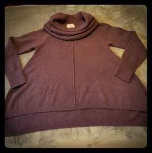 Ruby Moon Cowl Neck Sweater (L)